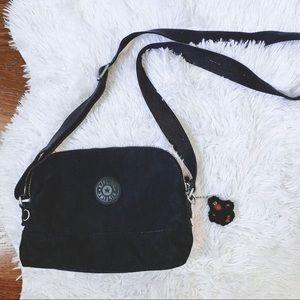 Kipling black crossbody purse